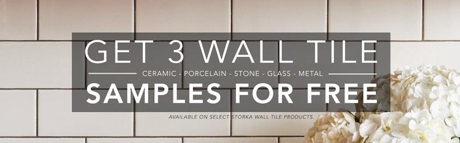 3 Free Wall Tile Samples
