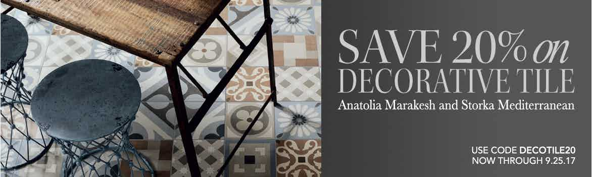 Decorative Tile Sale